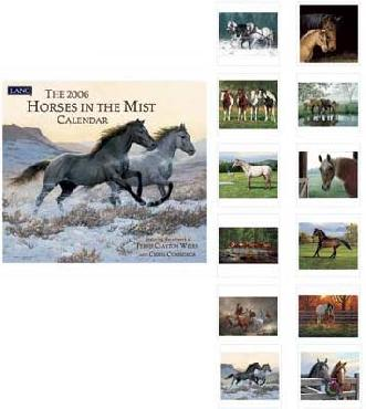 Lang Horses in the Mist 2006 Calendar