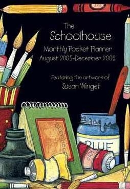 Susan Winget Schoolhouse 2006 Lang Monthly Planner
