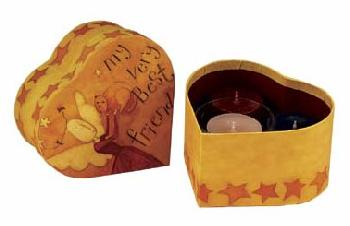 Dan DiPaolo Lang Votive Gift Set - My Very Best Friend