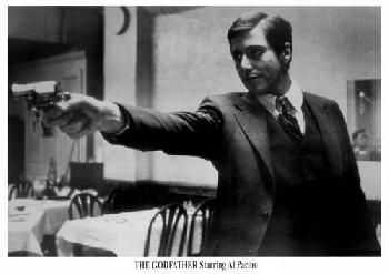 Anonymous Godfather  -  Al Pacino With Gun