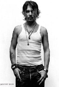Anonymous Johnny Depp  -  Portrait