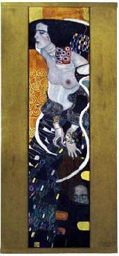Gustav Klimt Giuditta II - Salome 1909