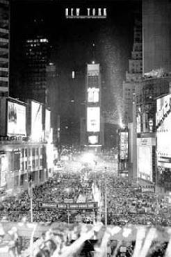 Jerry Driendl Times Square New Year