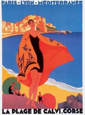 Roger Broders Paris Lyon Mediterranean