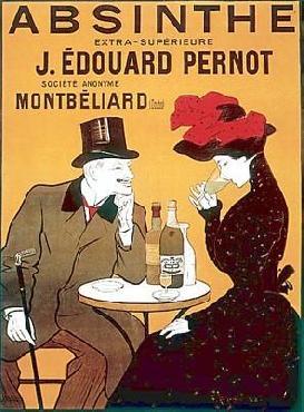 Leonetto Cappiello Absinthe J. Edouard Pernot