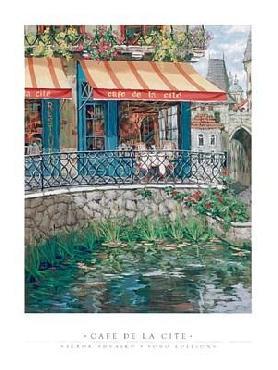 Viktor Shvaiko Cafe De La Cite