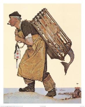Norman Rockwell Fishing