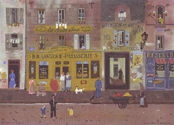 Michel Delacroix Les Ballons Rouges  -  Au Moulin De Paris
