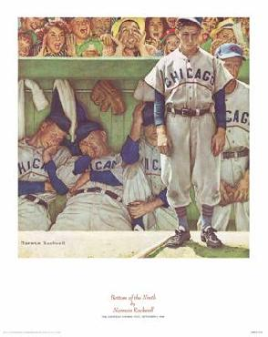 Norman Rockwell Bottom Of The Ninth