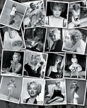 Sam Shaw Marilyn Monroe Collage