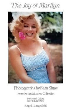 Sam Shaw Marilyn Monroe (flower In Teeth), Roxbury, Ct, 1957 (ex