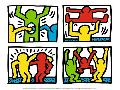Keith Haring Pop Shop Quad I, 1987
