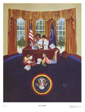 Annie Lee Oval Office