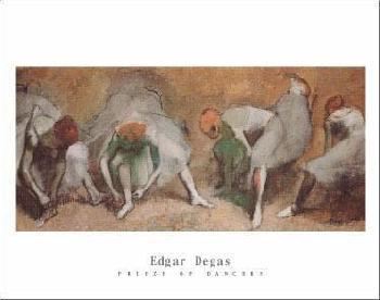 Edgar Degas Frieze of Dancers