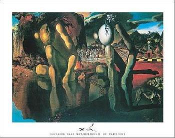 Salvador Dali Metamorphosis Of Narcissus, 1937