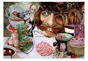 Leslie Ditto Alice In Wonderland (tea Party)
