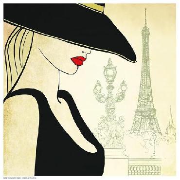 Anonymous Woman On Paris Bridge