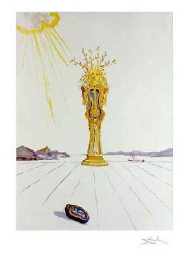 Salvador Dali American Clock Giclee on Paper Edition of 175