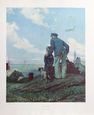 Norman Rockwell Outward Bound