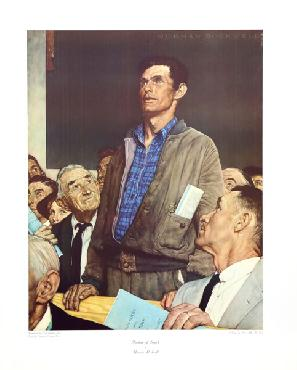 Norman Rockwell Freedom Of Speech