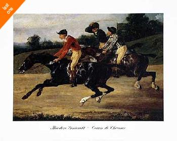 Theodore Gericault Course de Chevaux NO LONGER IN PRINT - LAST ONES!!