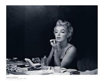 Sam Shaw Marilyn Monroe, Backstage