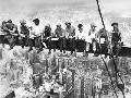 Corbis Eating above Manhattan