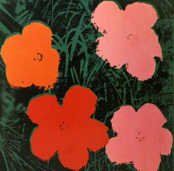 Andy Warhol Flowers I