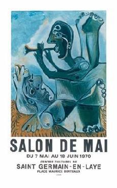 Pablo Picasso Salon de Mai Limited Edition of 3000