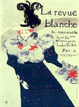 Henri De Toulouse-Lautrec Le Revue Blanche Limited Edition of 2000