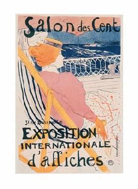 Henri De Toulouse-Lautrec Salon des Cent Limited Edition of 2000