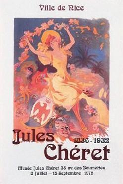 Jules Cheret Ville de Nice