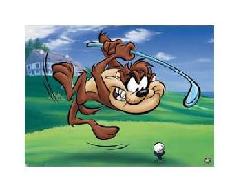 Looney Tunes Tee - Off Taz Limited Edition Giclee of 500