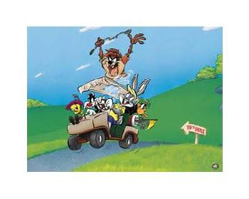 Looney Tunes To The 19th Hole Limited Edition Giclee of 500