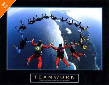 Anonymous Teamwork - Skydivers II NO LONGER IN PRINT - LAST ONES!!