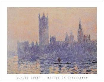 Claude Monet Houses of Parliament