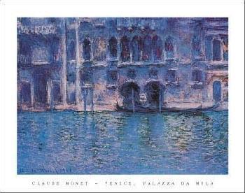 Claude Monet Venice Palazza da Mula