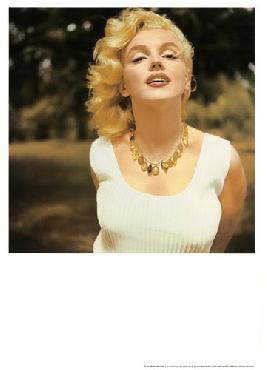 Sam Shaw Marilyn Monroe, Amagansett, Ny, 1957 (amber Necklace)