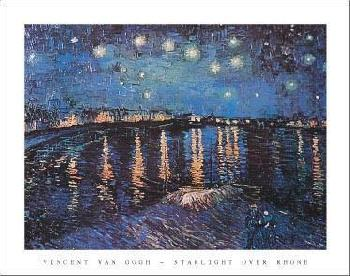 Vincent Van Gogh Starlight Over the Rhone