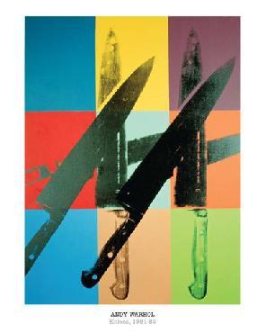 Andy Warhol Knives, 1981 - 82