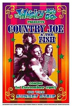 Dennis Loren Country Joe & the Fish 1967 Whisky-A-Go-Go Los Angeles