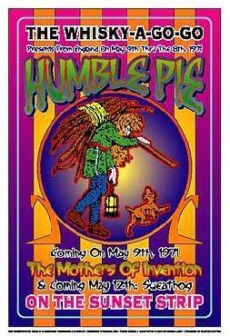 Dennis Loren Humble Pie 1971: Whisky-A-Go-Go Los Angeles