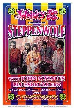 Dennis Loren Steppenwolf 1968: Whisky-A-Go-Go Los Angeles
