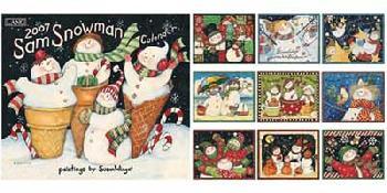 Susan Winget Sam Snowman 2007 Calendar