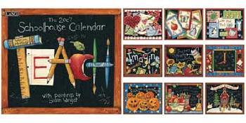 Susan Winget Schoolhouse 2007 Calendar
