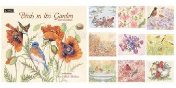 Sherri Buck Baldwin Birds in the Garden 2007 Calendar