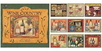 Susan Winget Wine Country 2007 Calendar