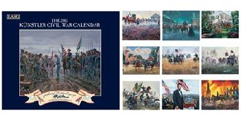 Mort Kunstler Civil War 2007 Calendar