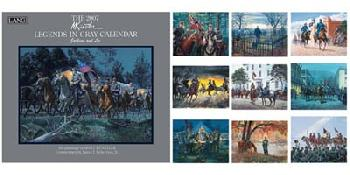 Mort Kunstler Legends in Gray 2007 Calendar