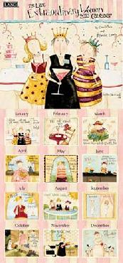 Dan DiPaolo Extraordinary Women 2010 Wall Calendar
